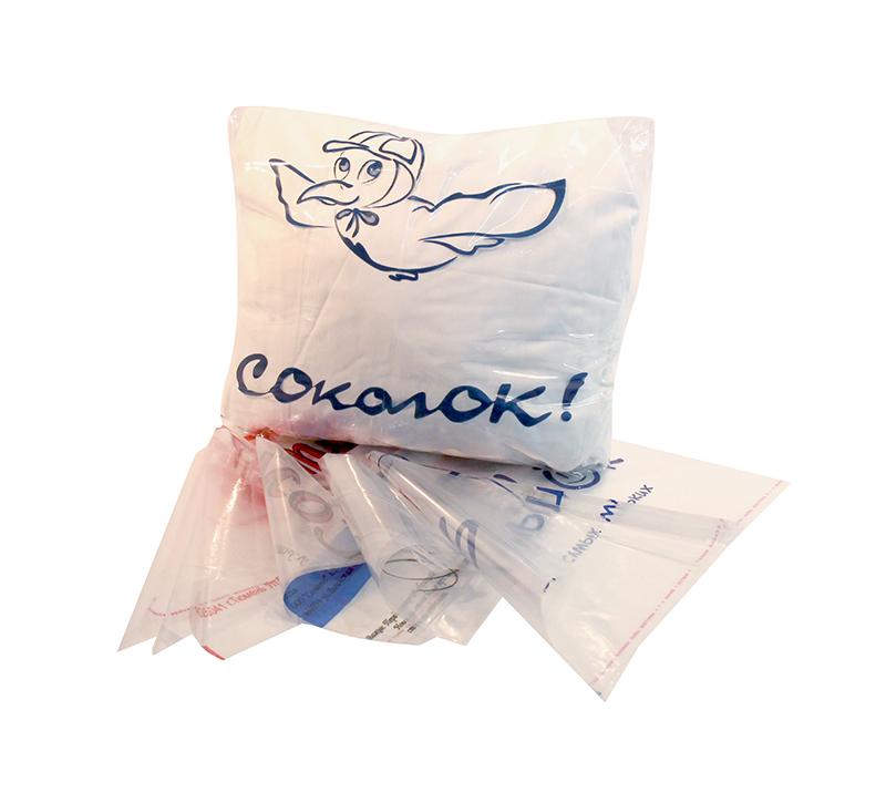 пакеты упаковочные с клапаном и скотчем
